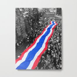 Street Party For Reform Metal Print