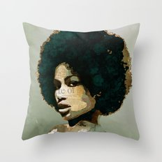 I am not your baby Throw Pillow