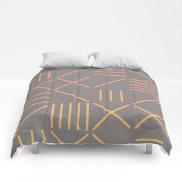 Geometric Shapes 12 Gradient Comforters