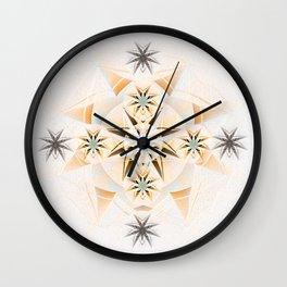 Ignacio: Twin Flame Dreamtime Mandala Wall Clock