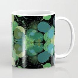 Splotchy Green Coffee Mug