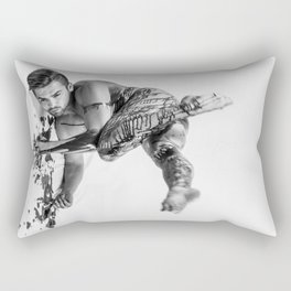 Oil Man Rectangular Pillow
