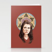annie hall Stationery Cards featuring Annie by mycolour