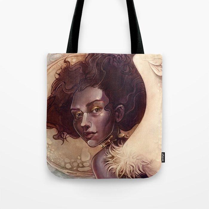 golden angel Tote Bag