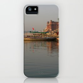 Reflections in the Ganges iPhone Case