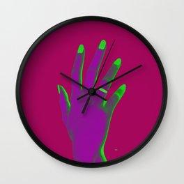 Meu precioso - Colorway 5 Wall Clock