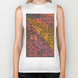Where Are YOU / Density Series Biker Tank