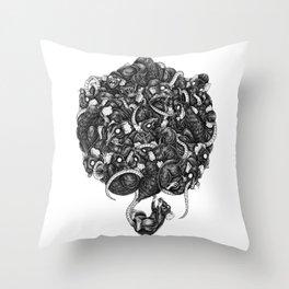 Rats Throw Pillow