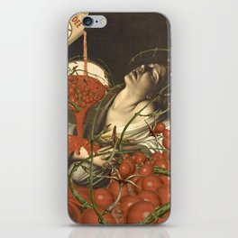 COMPLETE WITH TOMATOES iPhone Skin