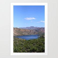 Canyon Lake Art Print