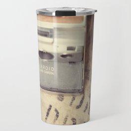 VIntage Polaroid SX-70 Travel Mug