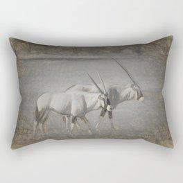 Gemsbok Duo Rectangular Pillow