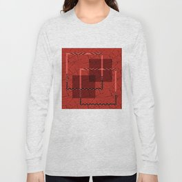 Abstract grunge background. Long Sleeve T-shirt