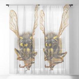 Wasp Sheer Curtain