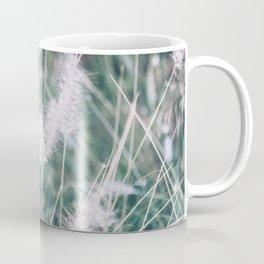 Blue Fountain Grass Plant Coffee Mug