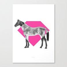Horse Diamond Canvas Print