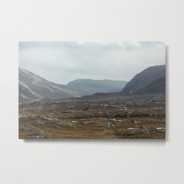 To The North Metal Print