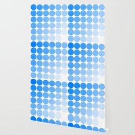 Blue Circle Color Chart Wallpaper