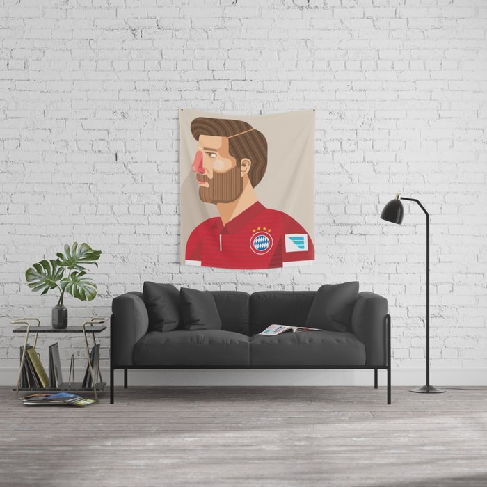 Xabi Alonso Wall Tapestry