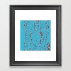 SKELET Framed Art Print