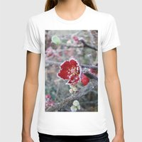 jack frost T-shirts featuring Flower in Frost by Nightmare Paradise