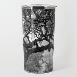 Gray Tree Travel Mug