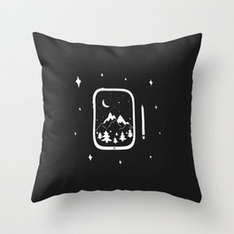 Digital Adventures Throw Pillow