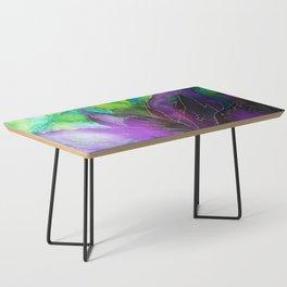 Purple Leaf Coffee Table