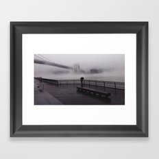NY Fog Series No.1 Framed Art Print