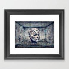 Phasenspektrum Framed Art Print