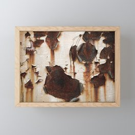 rusted Framed Mini Art Print