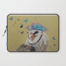The Butterfly Effect Barn Owl Laptop Sleeve