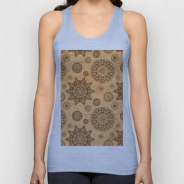 format decorated Unisex Tank Top