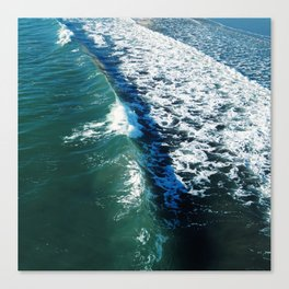 Curved Wave Canvas Print