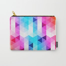 Abstract Triangle Colorful Carry-All Pouch