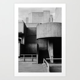 National Theatre | London |  United Kingdom Art Print