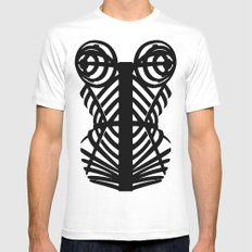 Madonna Corset #MDNA TOUR Mens Fitted Tee White LARGE