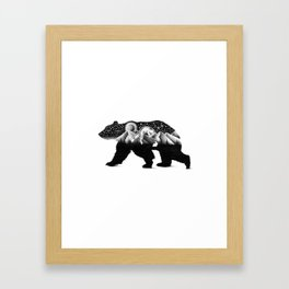 THE NIGHT HUNT Framed Art Print