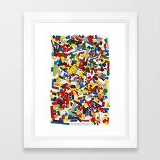 The Lego Movie Framed Art Print