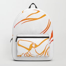 Sema The Dance Of The Whirling Dervish Backpack