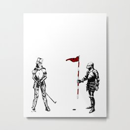 Every day heroes - Putt putt, champions at play... Metal Print