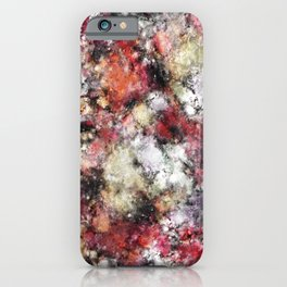 Thermal fractures iPhone Case
