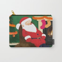 Sleeping Santa Carry-All Pouch