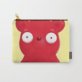 scared face bear Carry-All Pouch