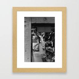 Where One Door Closes Framed Art Print