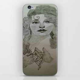 Myrna Darby - 1920s  iPhone Skin