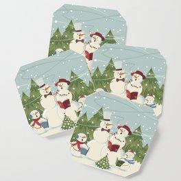 Christmas Song / Snowmen Coaster