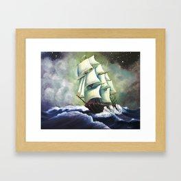 Oh Ship! Framed Art Print