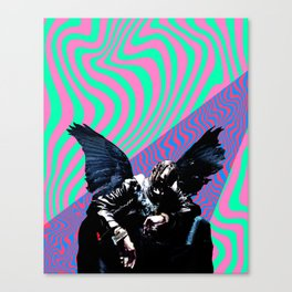 BIRDS IN THE TRAP Canvas Print