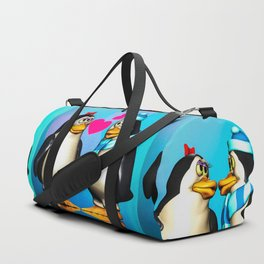 Penguin Romance Duffle Bag